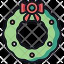 Wreath Luxury Winter Icon
