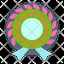 Wreath Garland Flower Icon