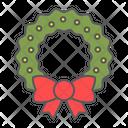 Christmas Wreath Xmas Icon