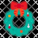 Wreath Ornament Xmas Icon