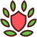 Award Wreath Shield Icon