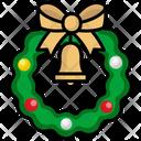 Wreath Adornment Bow Icon