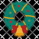 Wreath Christmas Adornment Icon