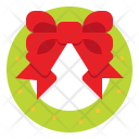 Wreath Christmas Decoration Icon