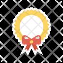 Wreath Award Ribbon Icon