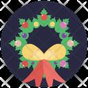 Wreath Christmas Garland Icon