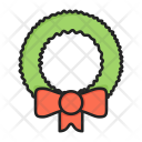 Leaf Wreat Decoration Icon