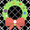 Wreath Holly Christmas Icon