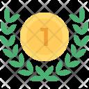 Wreath Medal Icon