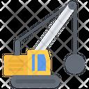 Wrecking Ball Crane Icon