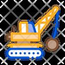 Wrecking Crane Icon