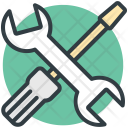 Wrench Screwdriver Repair Icon