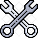 Wrench Tool Handtool Icon
