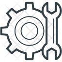 Wrench Gear Cog Icon