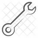 Spanner Wrench Mechanical Tool Icon