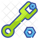 Wrench Tools Setting Icon
