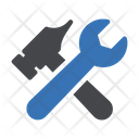 Wrench Tools Hammer Icon