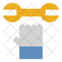 Wrench Garage Labour Day Icon