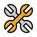 Wrench Labour Day Construction And Tools Icon