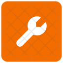 Wrench Setting Configuration Icon