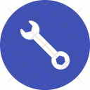 Simple Wrench Tool Icon