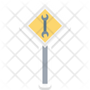 Wrench Repair Tool Garage Tool Icon