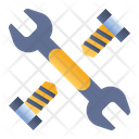 Wrench Bolts Mechanic Icon