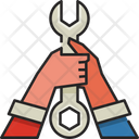 Wrench Hands Wrench Hands Icon