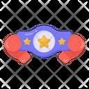 Championship Belt Wrestling Belt Winner Belt Icon
