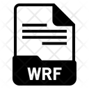 Wrf File Format Icon