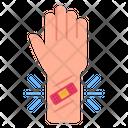 Wrist Bandage Vein Cut Wrist Cut Icon