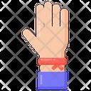 Hand Band Hand Bracelet Wristband Icon