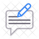 Write Message Edit Icon