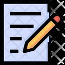 Write Pen Paper Icon