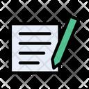 Write Notes Diary Icon