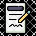 Write Writing Edit Icon