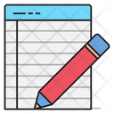Write Notepad Notes Icon
