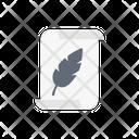 Write Feather Document Icon