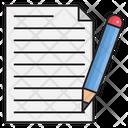 Write Edit Notes Icon