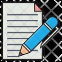Write Notes Edit Icon