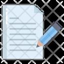 Artboard Document Write Icon