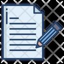 Write Document Pencil Icon