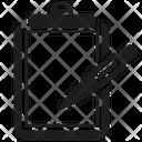 Clipboard Write Edit Icon