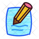 Icon Write Primitive Kids Icon