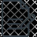 Write File Content Icon
