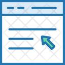 Write Blog Blog Cursor Icon
