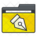 Write Folder Collection Icon