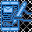 Write Mail Icon