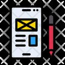 Write Mail Design Screen Icon