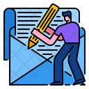Newsletter Web Email Icon